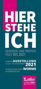Titelseite Lutherausstellung Flyer Herbst 2020