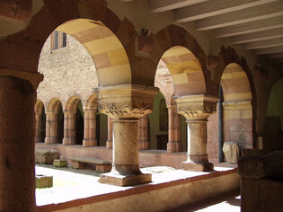 Cloisters (source: City Archives)